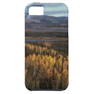 AERIAL VIEW OF AUTUMN LANDSCAPE iPhone 5 COVER
