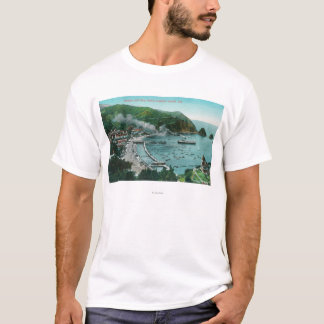 Aerial View of Avalon and Bay T-Shirt