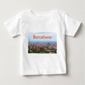 Aerial view of Barcelona, Spain Baby T-Shirt
