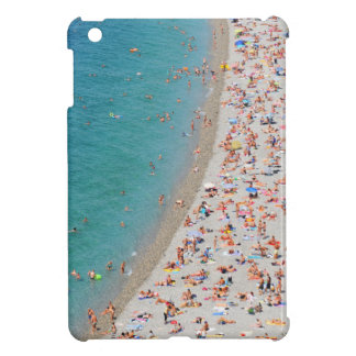 Aerial view of beach in Nice, France iPad Mini Cover