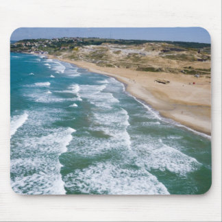 Aerial view of Black Sea coast of Istanbul, Mousepad