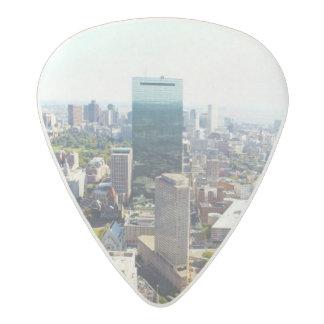 Aerial view of Boston 2 Acetal Guitar Pick