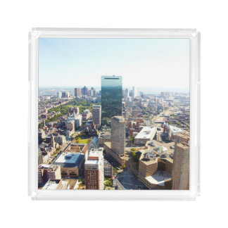 Aerial view of Boston 2 Acrylic Tray