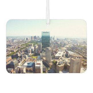 Aerial view of Boston 2 Car Air Freshener