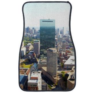Aerial view of Boston 2 Car Mat