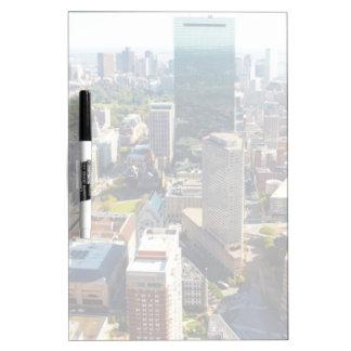 Aerial view of Boston 2 Dry Erase Whiteboard