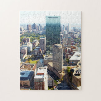 Aerial view of Boston 2 Jigsaw Puzzle