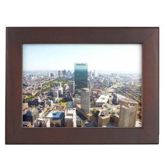Aerial view of Boston 2 Keepsake Box