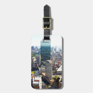 Aerial view of Boston 2 Luggage Tag