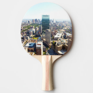 Aerial view of Boston 2 Ping Pong Paddle