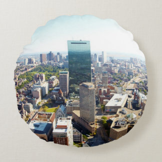 Aerial view of Boston 2 Round Cushion