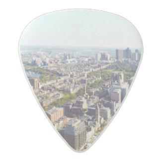 Aerial view of Boston Acetal Guitar Pick