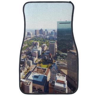 Aerial view of Boston Car Mat