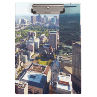 Aerial view of Boston Clipboard