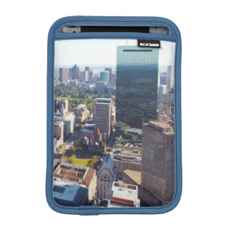 Aerial view of Boston iPad Mini Sleeve