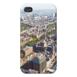 Aerial view of Boston iPhone 4/4S Cases
