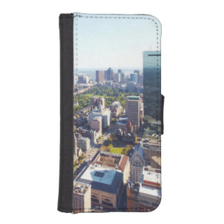 Aerial view of Boston iPhone SE/5/5s Wallet Case