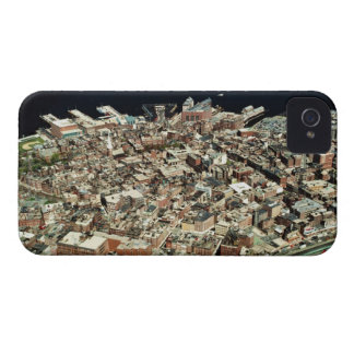 Aerial view of Boston, MA iPhone 4 Case-Mate Case