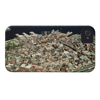 Aerial view of Boston, MA iPhone 4 Cover