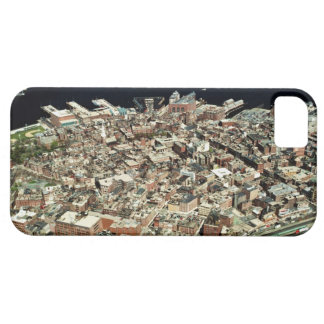 Aerial view of Boston, MA iPhone 5 Cases