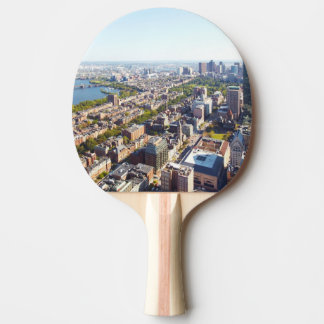 Aerial view of Boston Ping Pong Paddle