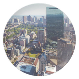 Aerial view of Boston Plates