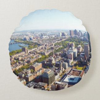 Aerial view of Boston Round Cushion