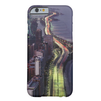Aerial view of buildings along a highway in a barely there iPhone 6 case