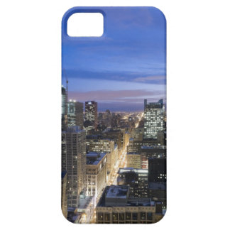 Aerial view of buildings along State Street in Barely There iPhone 5 Case