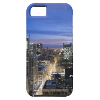 Aerial view of buildings along State Street in Tough iPhone 5 Case