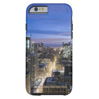 Aerial view of buildings along State Street in Tough iPhone 6 Case