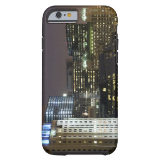 Aerial view of buildings in the Chicago Loop at Tough iPhone 6 Case