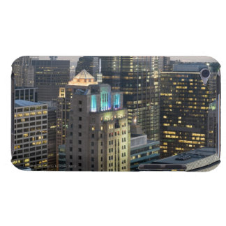 Aerial view of buildings in the Chicago Loop Barely There iPod Cover