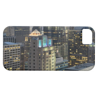 Aerial view of buildings in the Chicago Loop iPhone 5 Cover