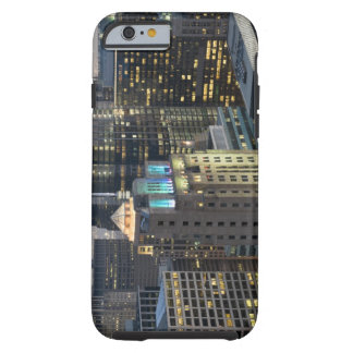 Aerial view of buildings in the Chicago Loop Tough iPhone 6 Case