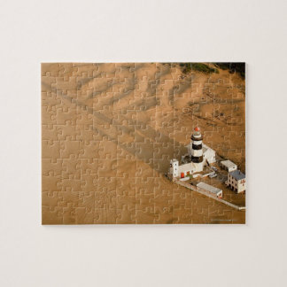 Aerial view of Cape Recife Lighthouse, Nelson Jigsaw Puzzle