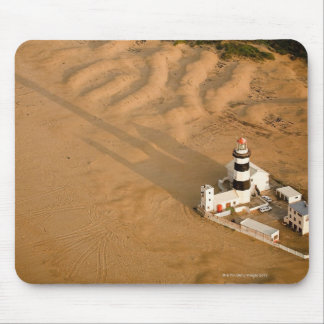 Aerial view of Cape Recife Lighthouse, Nelson Mouse Mat