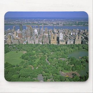 Aerial view of Central Park and the west side Mouse Mat