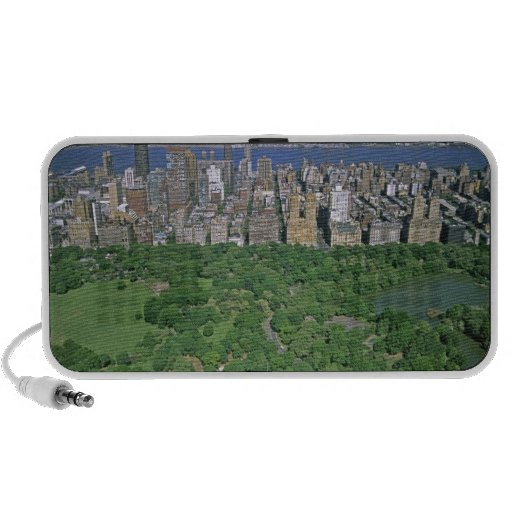 Aerial view of Central Park and the west side Laptop Speaker