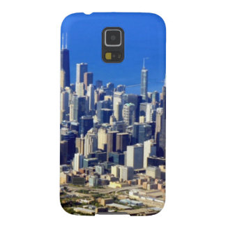 Aerial view of Chicago Downtown with Lake Case For Galaxy S5