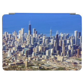 Aerial view of Chicago Downtown with Lake iPad Air Cover