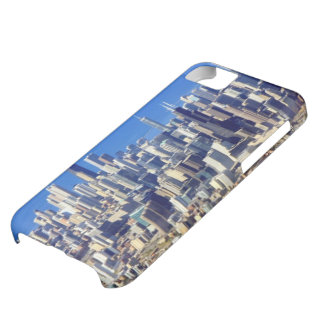 Aerial view of Chicago Downtown with Lake iPhone 5C Case