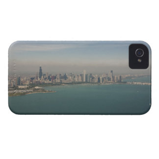 aerial view of Chicago from lake Michigan Case-Mate iPhone 4 Case