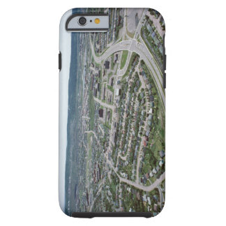 Aerial view of cityscape of Newfoundland, Canada Tough iPhone 6 Case