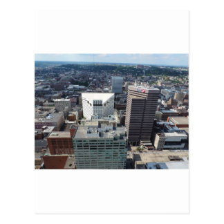 Aerial view of downtown Cincinnati Postcards