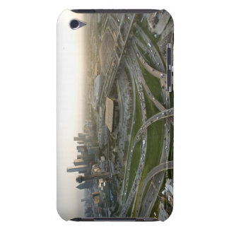 Aerial view of downtown Dallas, Texas Barely There iPod Cover