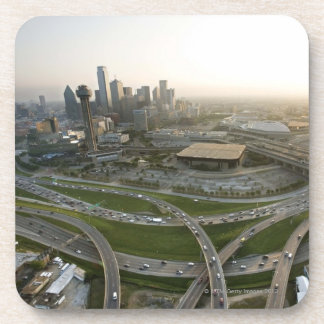 Aerial view of downtown Dallas, Texas Coaster