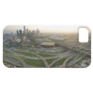 Aerial view of downtown Dallas, Texas iPhone 5 Covers