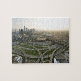Aerial view of downtown Dallas, Texas Jigsaw Puzzle