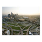 Aerial view of downtown Dallas, Texas Postcard